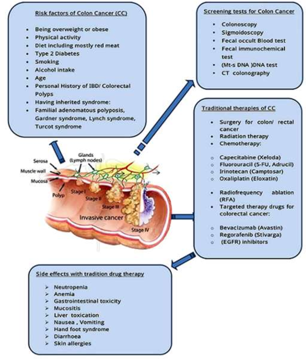 Strategies For Targeted Drug Delivery In Treatment Of Colon Cancer Current Trends And Future Perspectives Semantic Scholar