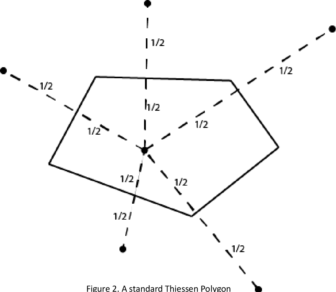 PDF] Creation of Weighted Theissen Polygons Using Python