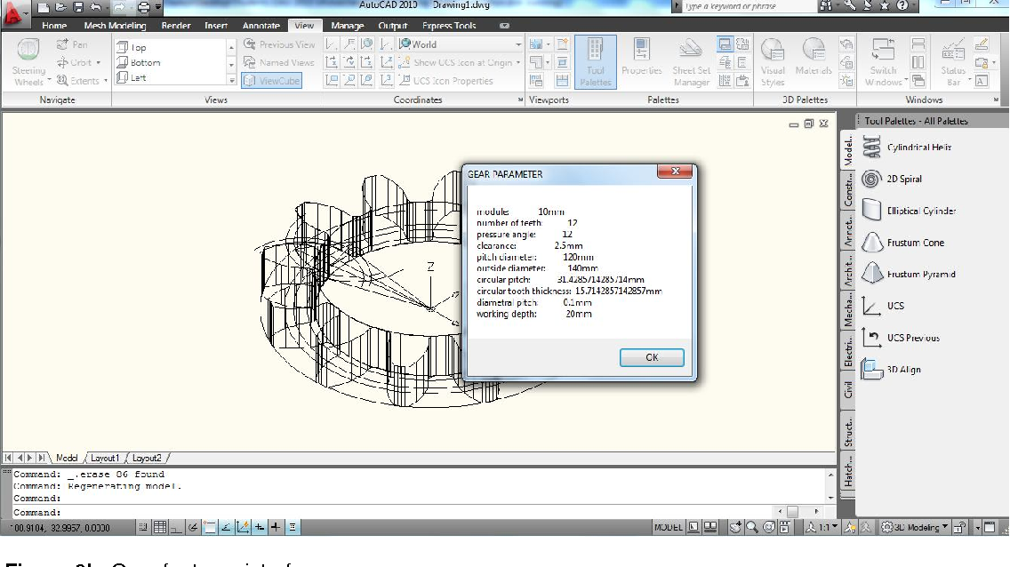 Figure 9 from Drafting of involute spur-gears in AutoCAD-VBA