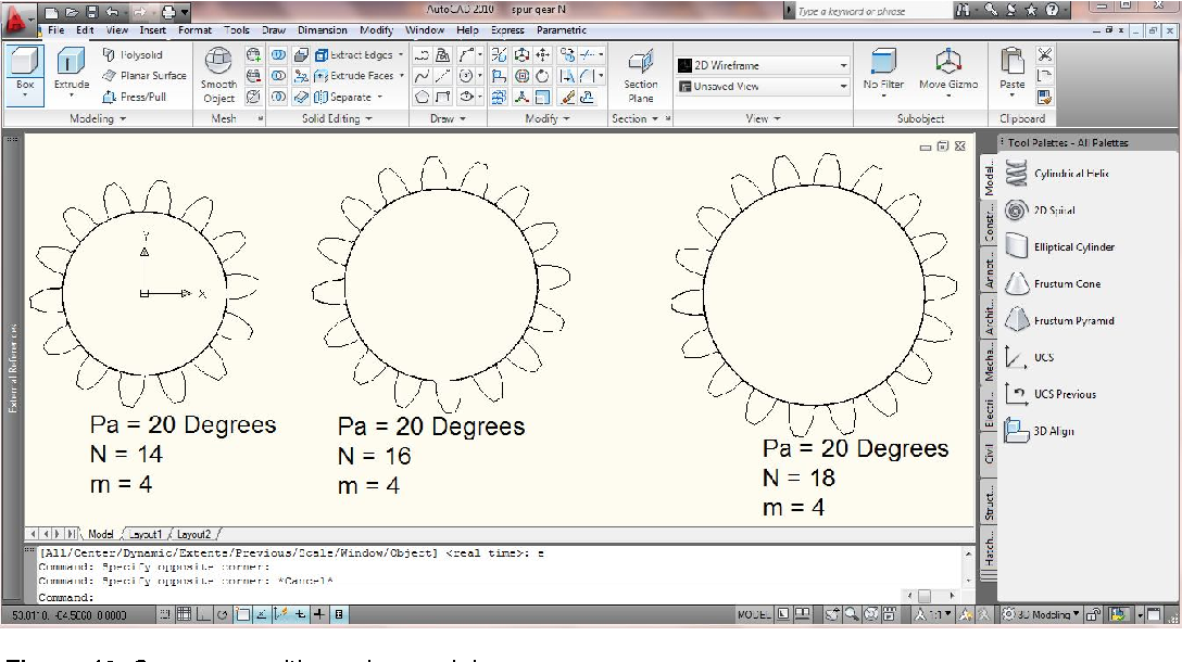 Figure 12 from Drafting of involute spur-gears in AutoCAD