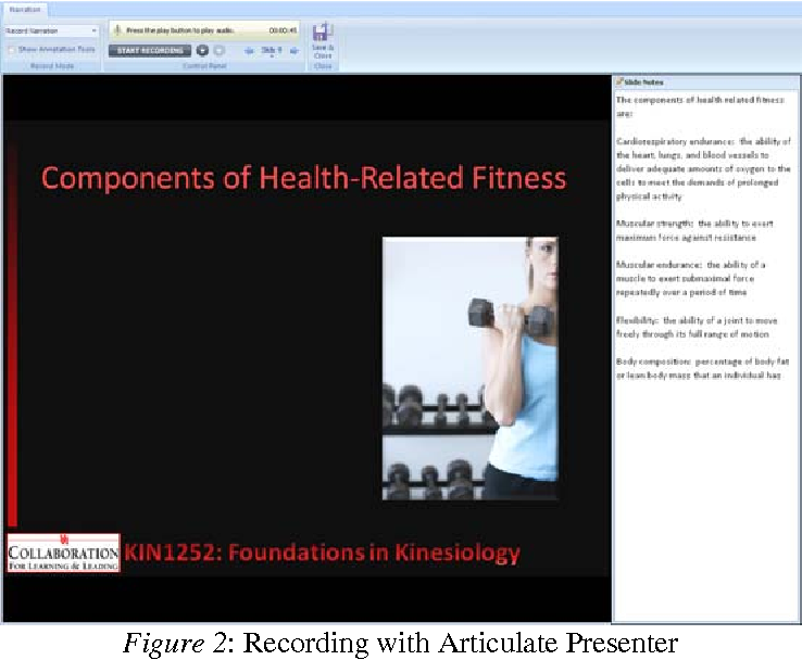 Pdf Designing Online Learning Modules In Kinesiology Semantic Scholar