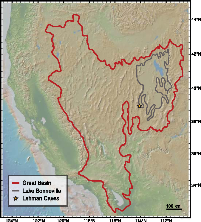 Figure 1 from Mid-Holocene drying of the U.S. Great Basin ...