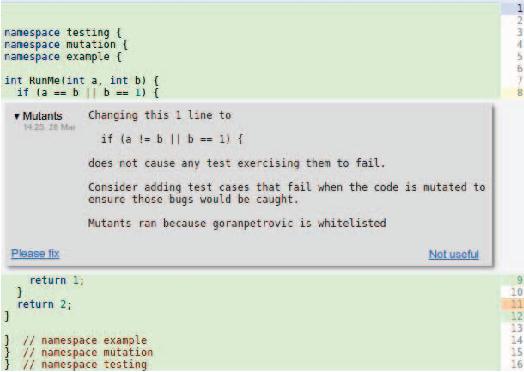 State of Mutation Testing at Google - Semantic Scholar