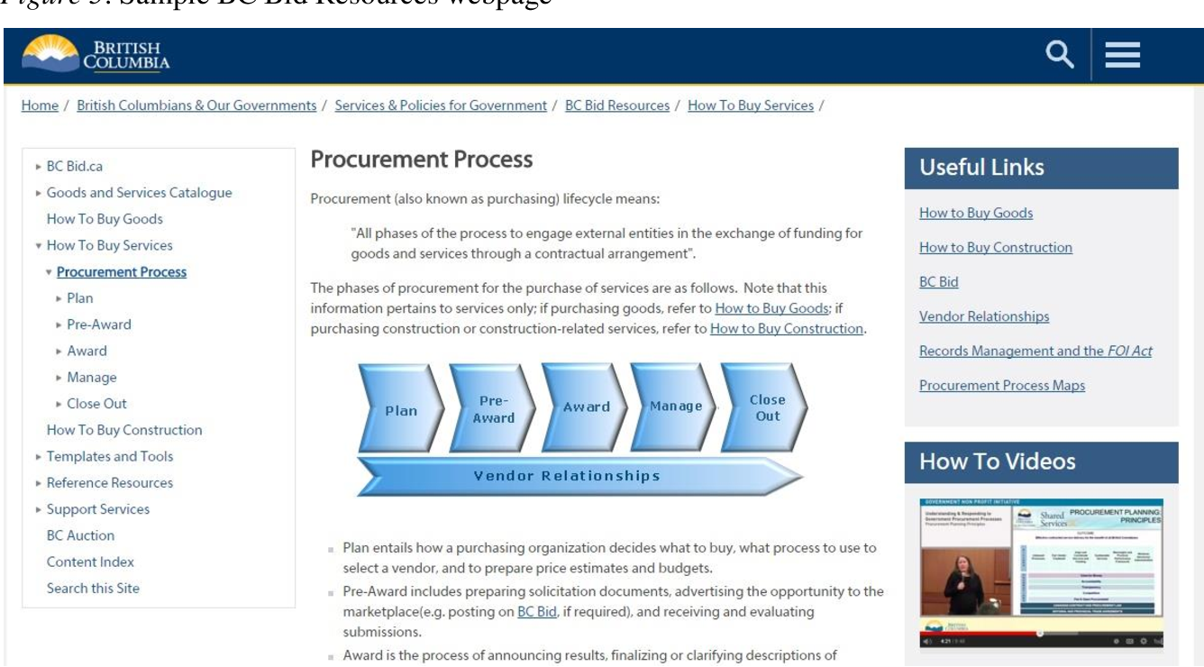 Pdf Applying A User Experience Approach To Implement Bc Bid Resources Lessons Learned And An Evaluation Framework For The Government Of British Columbia S Portal Of Corporate Procurement Resources Semantic Scholar