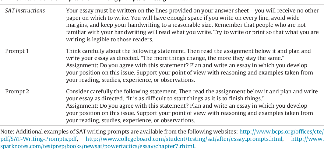 classification approach to writing essays