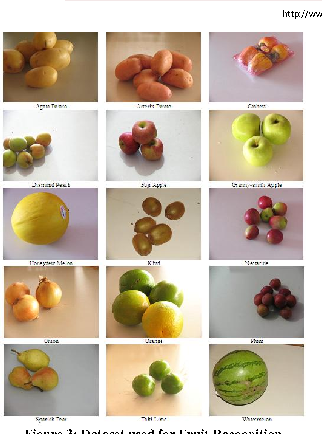 PDF] Fruit Recognition using Color and Texture Features
