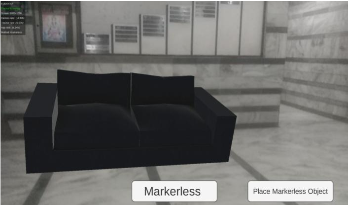Markerless Augmented Reality Based Interior Designing System Semantic Scholar