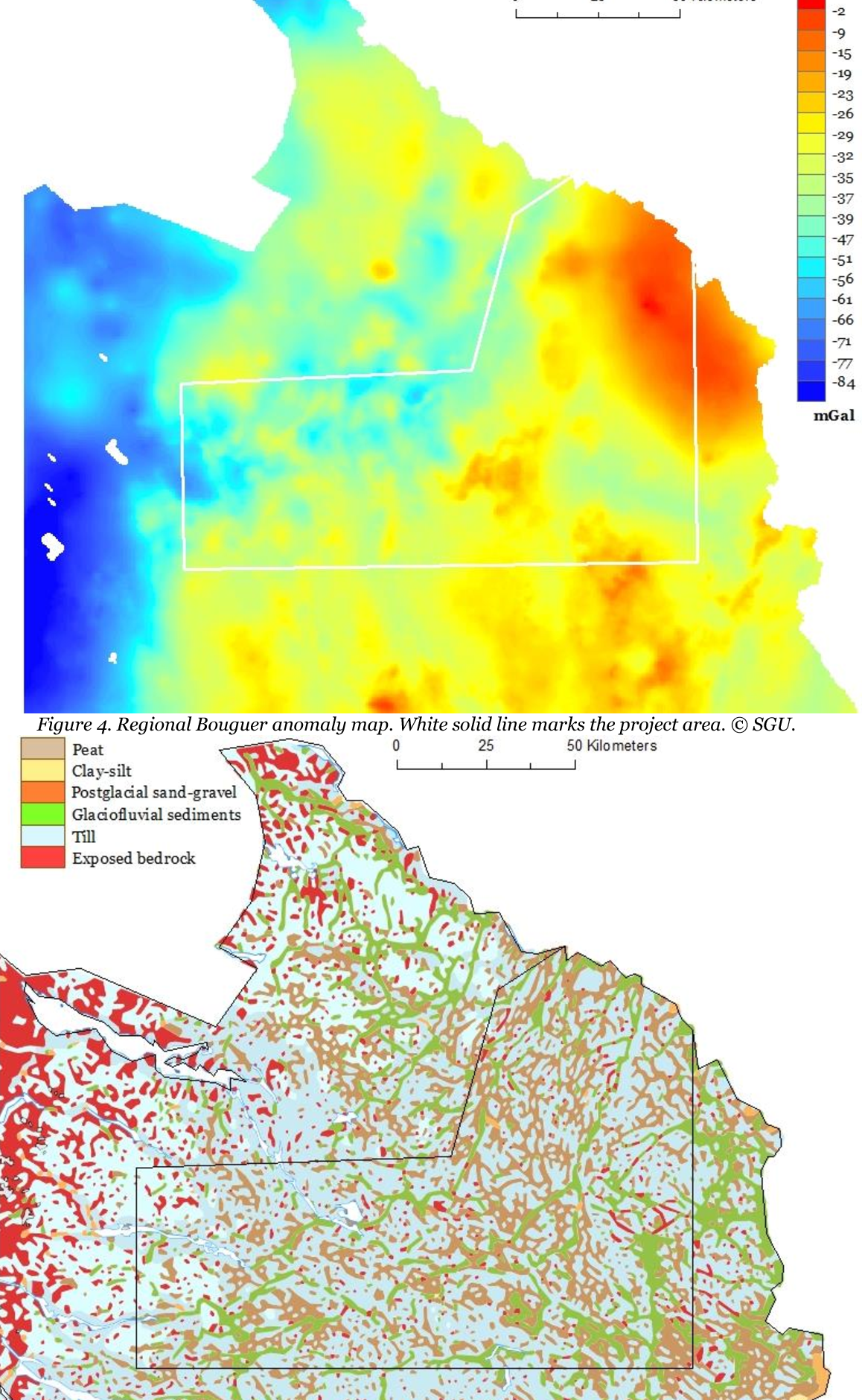 Figure 4 from Soil geochemical mapping of manganese in ... on