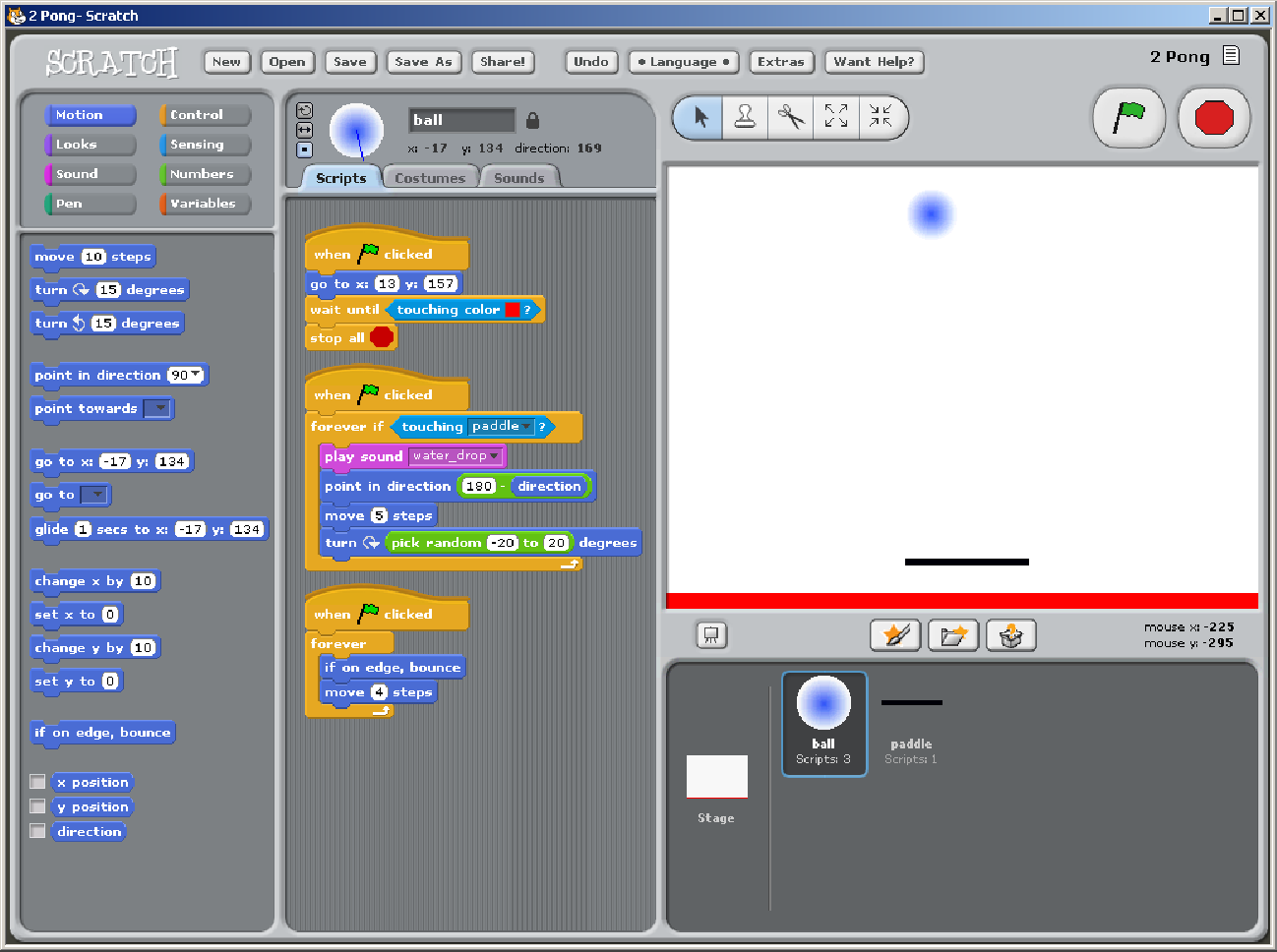 Skill Progression Demonstrated by Users in the Scratch