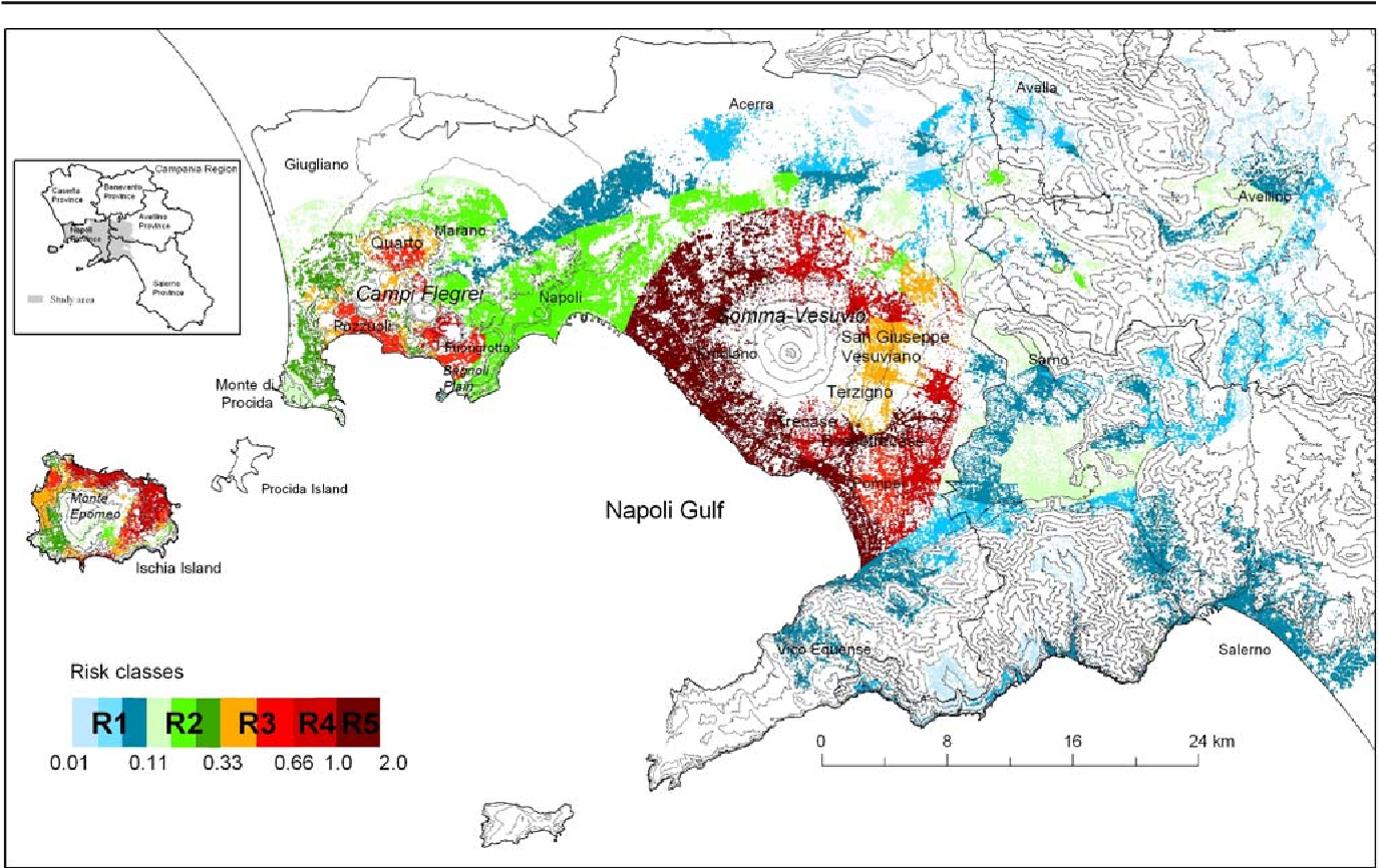 Areas Of Italy Map.Figure 6 From Hazard And Risk Assessment In A Complex Multi Source