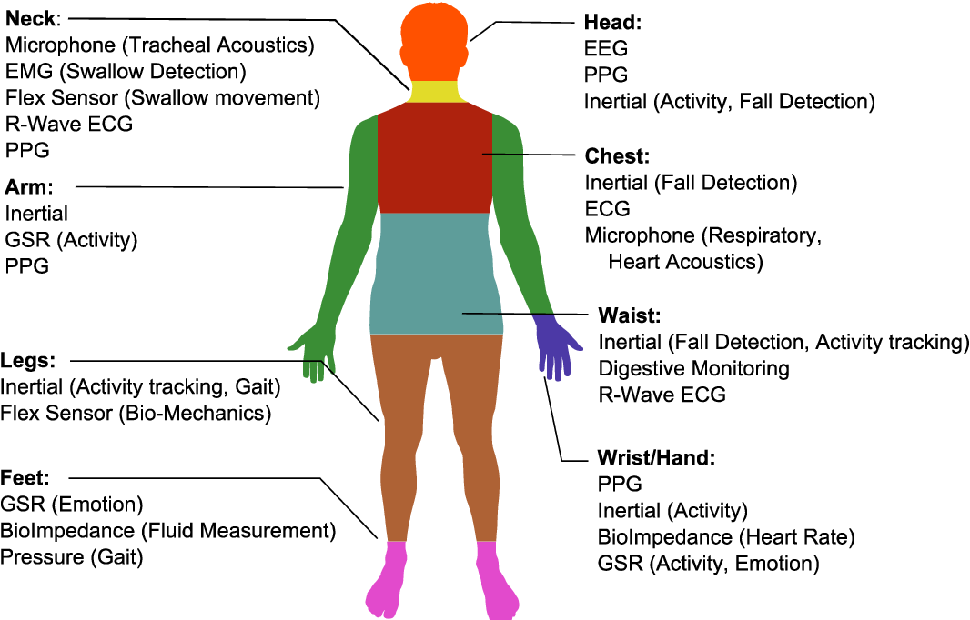 PDF] Wearable sensing modalities for a neck-based health