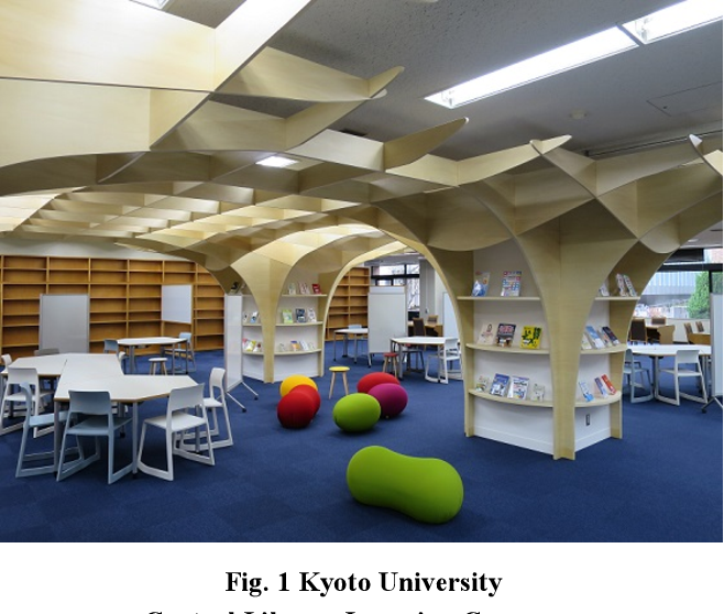 Fig. 1 Kyoto University Central Library Learning Commons