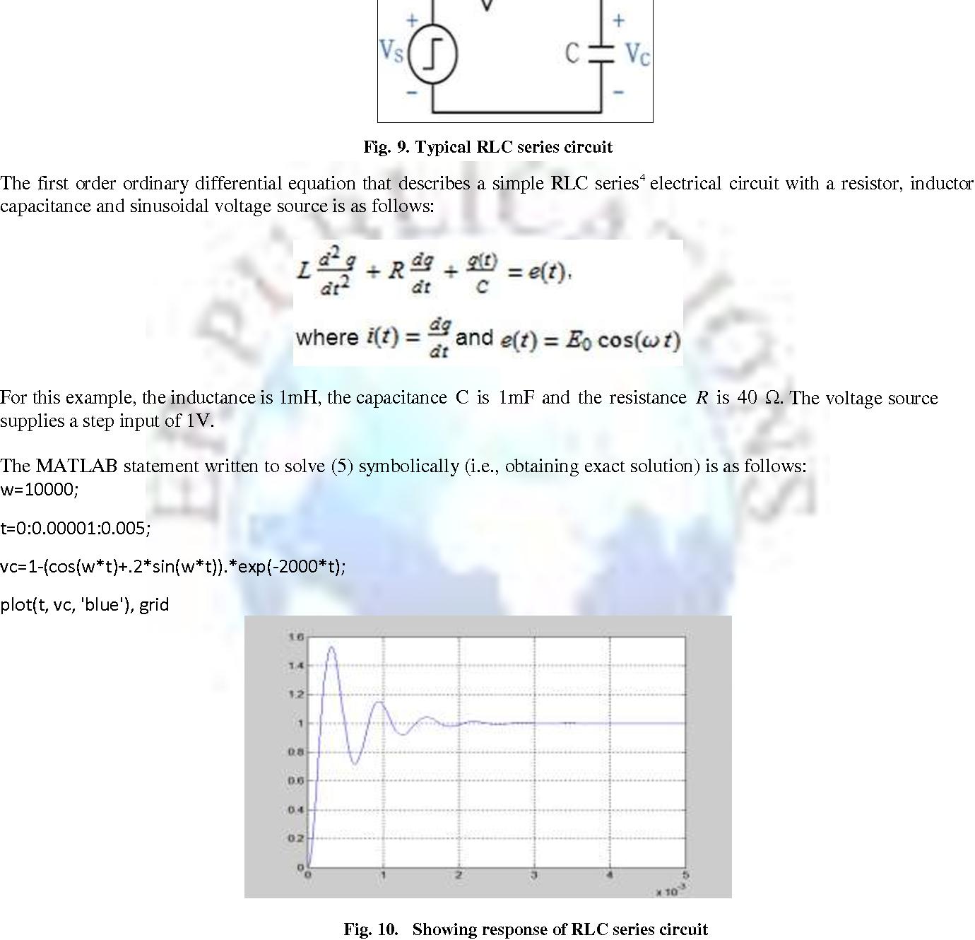 Figure 9 from Circuit Analysis Using Matlab / Simulink