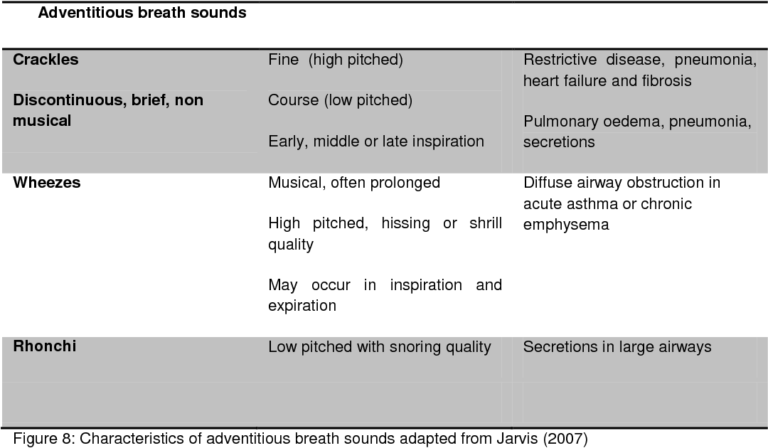 Asthma Assessment For Nurses - Asthma Lung Disease