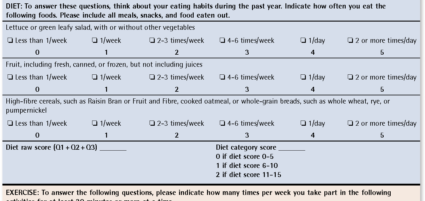 Figure 1 from Testing the Simple Lifestyle Indicator