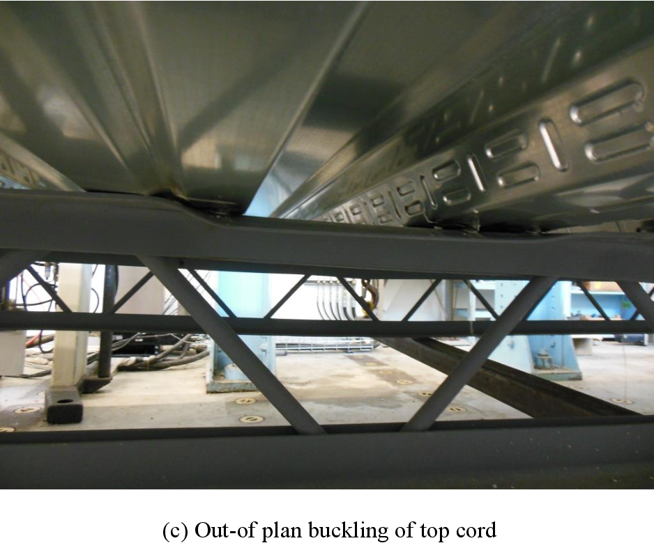 Pdf Behaviour Of Open Web Steel Joist In Composite Deck Floor