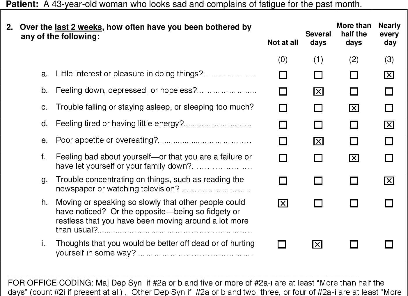 Pdf Instructions For Patient Health Questionnaire Phq And Gad 7 Measures Topic Pages Background 1 Coding And Scoring 2 4 5 Versions 3 Use As Severity And Outcome Measures 6 7 Semantic Scholar