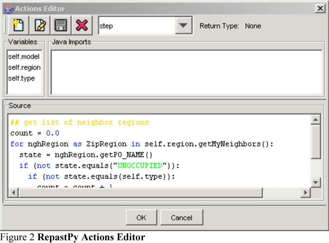 Figure 2 from Repast for Python Scripting  | Semantic Scholar
