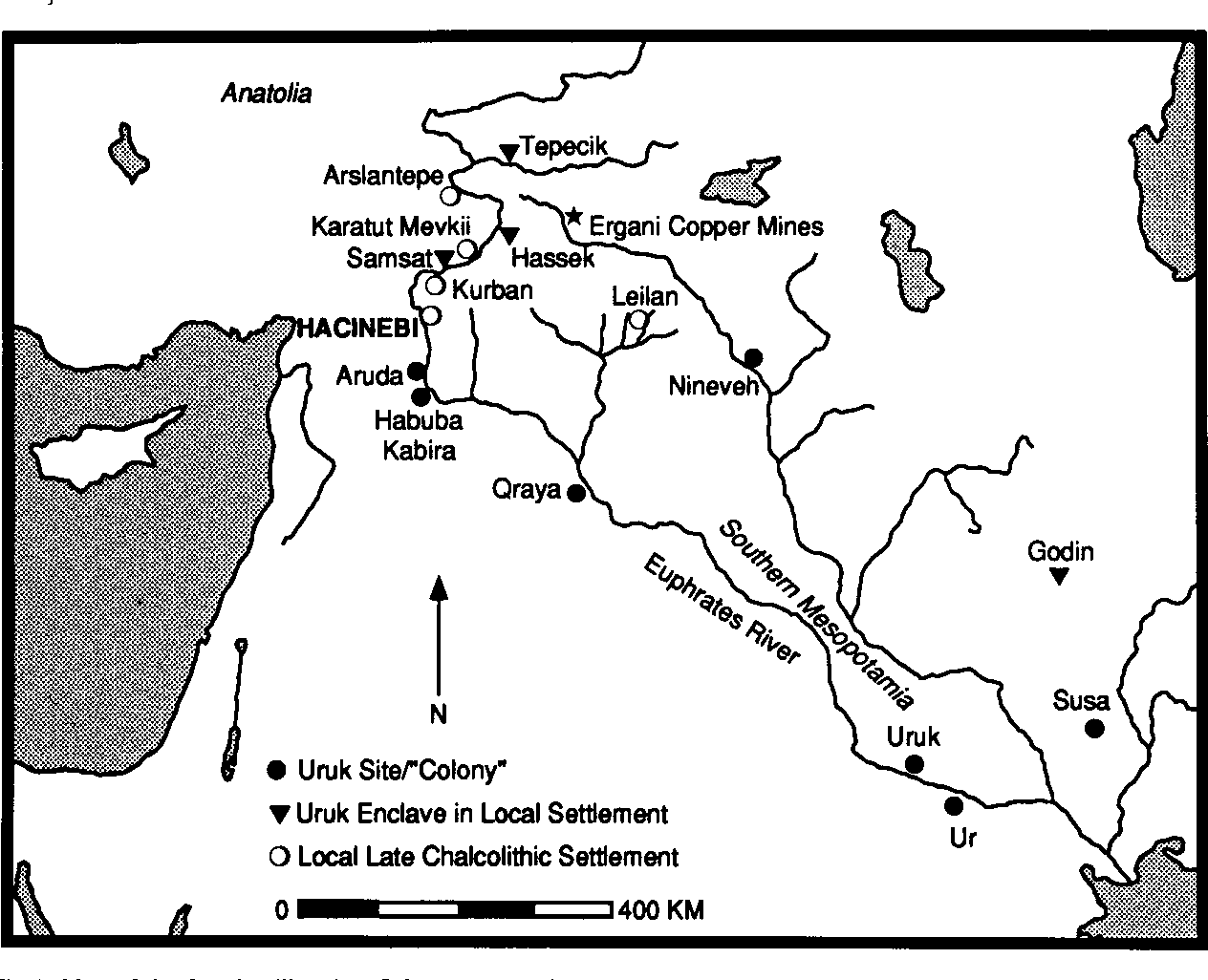PDF] Uruk colonies and Anatolian communities : An interim report on the  1992-1993 excavations at Hacinebi, Turkey | Semantic Scholar