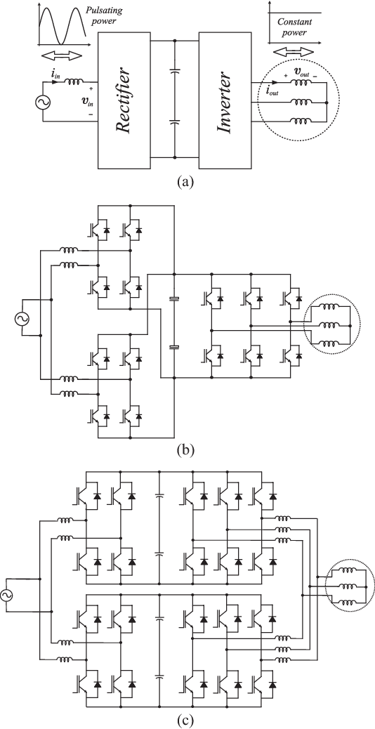 Figure 3 from Suitable Single-Phase to Three-Phase AC–DC–AC
