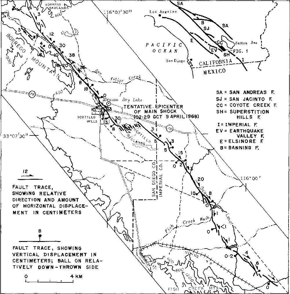 Pdf The Borrego Mountain California Earthquake Of 9 April 1968 A Preliminary Report Semantic Scholar
