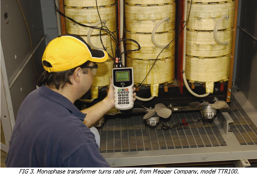 Figure 3 from Power transformer maintenance  Field testing