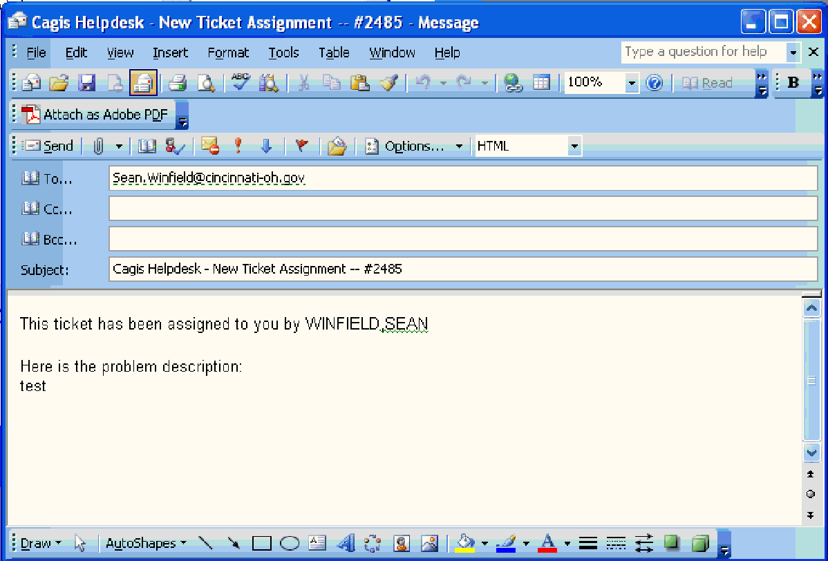 Figure 10 from CAGIS HelpDesk System for the City of
