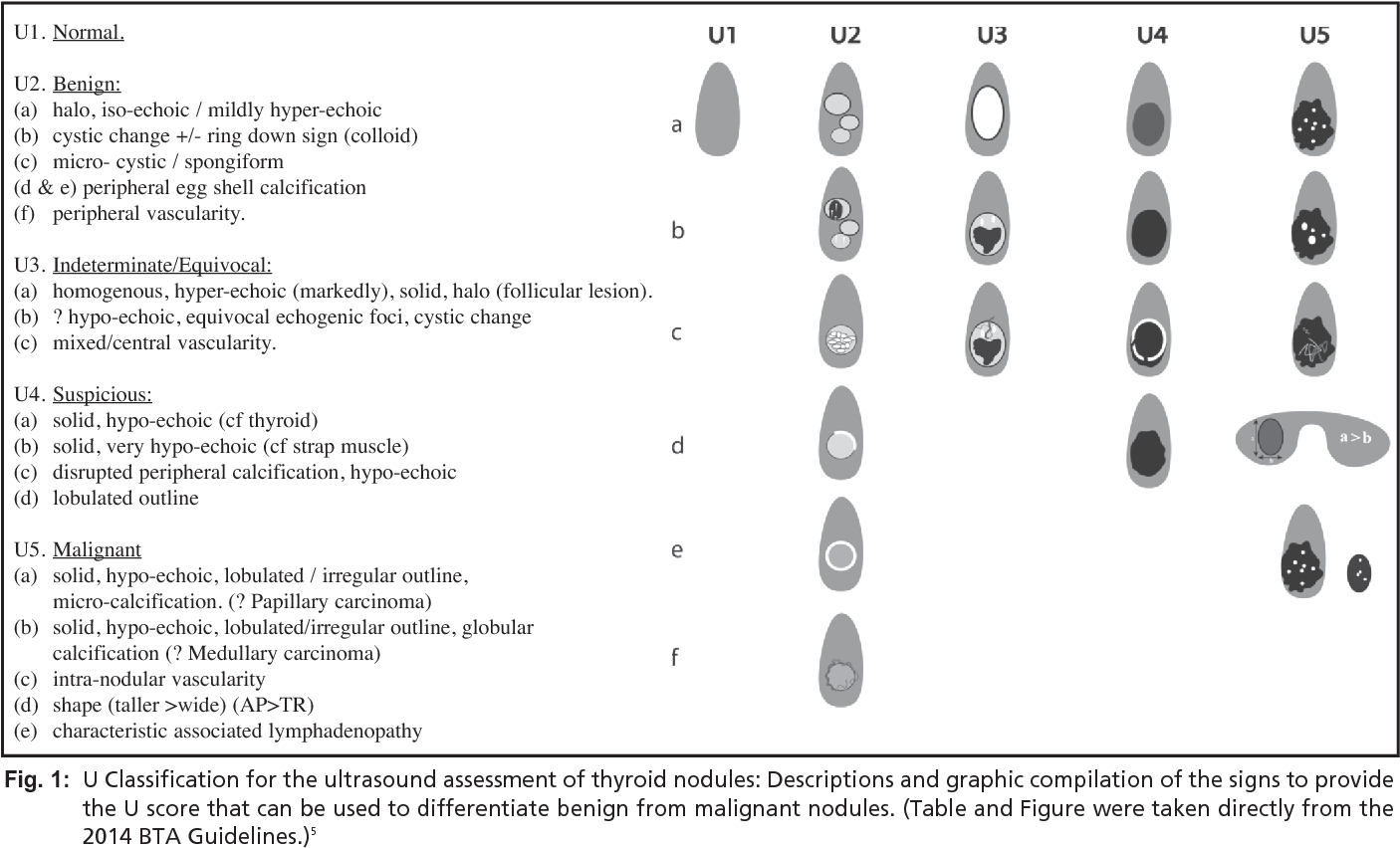 Figure 1 From Reliability Of The Ultrasound Classification System