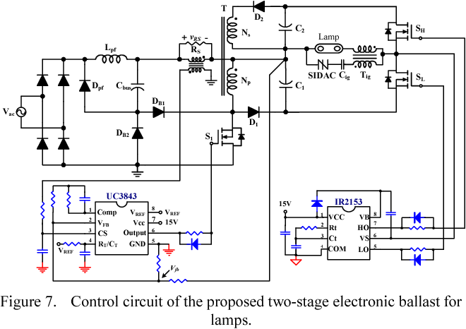 Figure 7 from Two-stage electronic ballast for HID lamp with