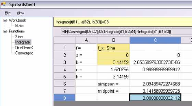 Implementing function spreadsheets | Semantic Scholar