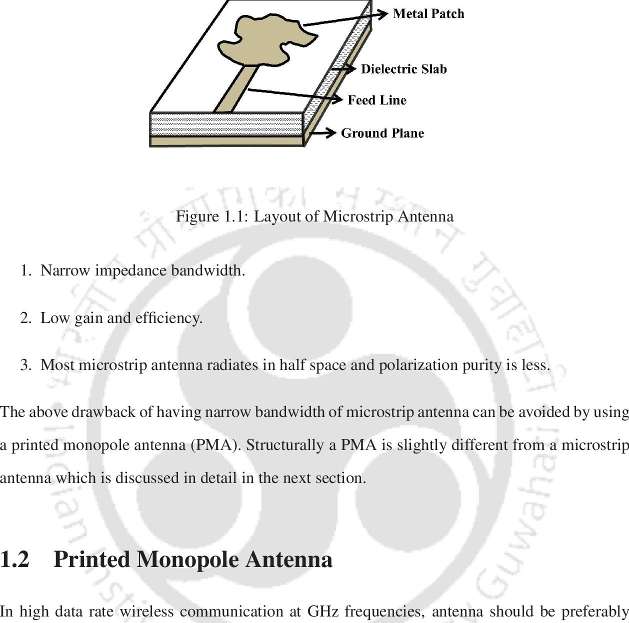 PDF] Analysis of Printed Monopole Antennas - Semantic Scholar