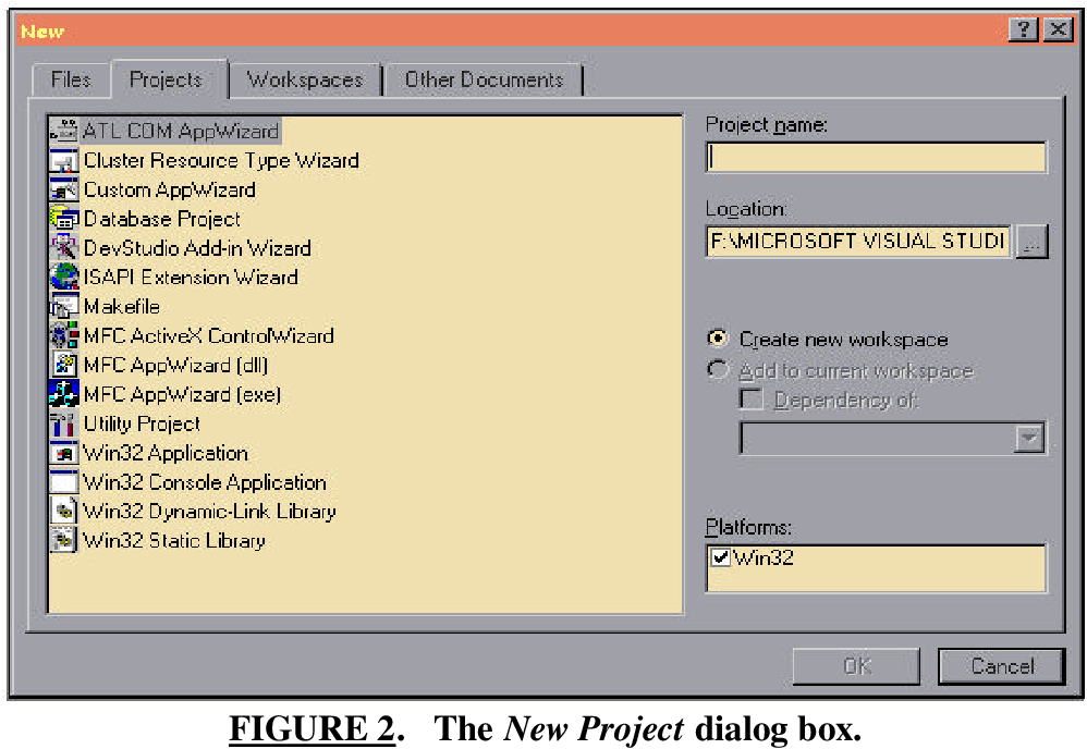 Figure 10 from Microsoft Visual C++ 6 0 Ide Tutorial