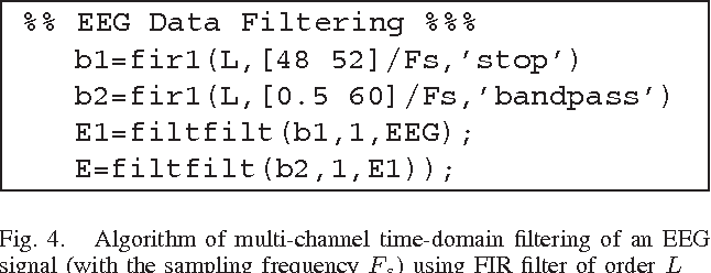 Multi-channel EEG signal segmentation and feature extraction