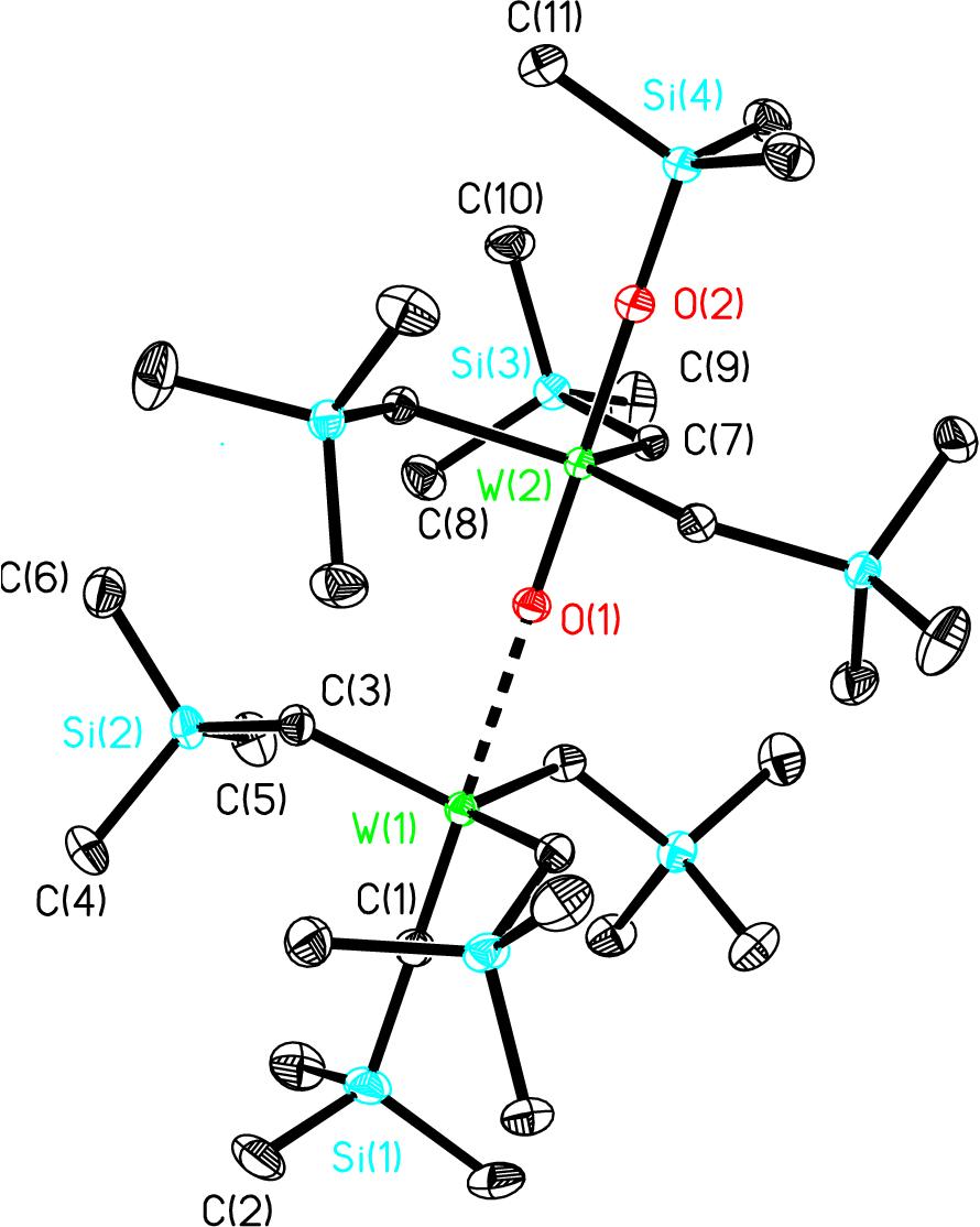Figure 4 2 from Tungsten Alkyl Alkylidyne and Bis(Alkylidene