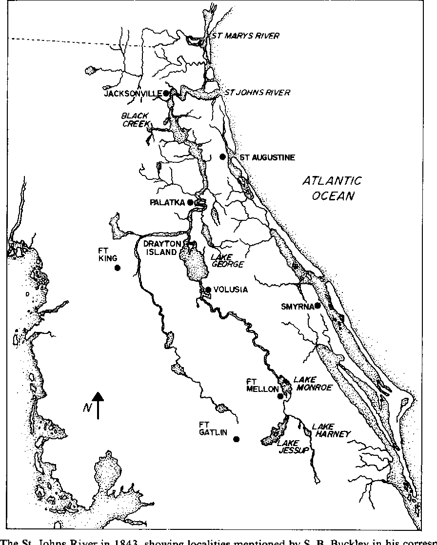 "Figure 1 from ""That land of flowers, swamps and alligators ... on saint francis river map, lower john day river map, oregon river map, potomac river map, south branch river map, saint clair river map, salem river map, saint john's florida map, st. louis river map, ice in st. clair river map, saint joe river map, susquehanna river map, st. lawrence river on us map, united states river map, saint lawrence river map, elizabeth river map, st. mary river florida on map, vicksburg river map, saint augustine river map, ohio river map,"