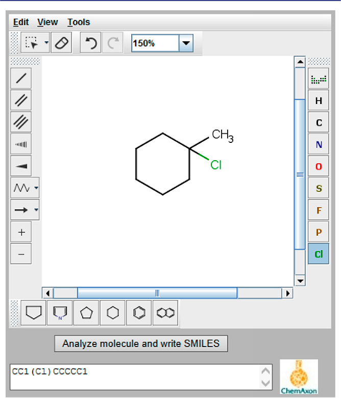 Using structure-based organic chemistry online tutorials