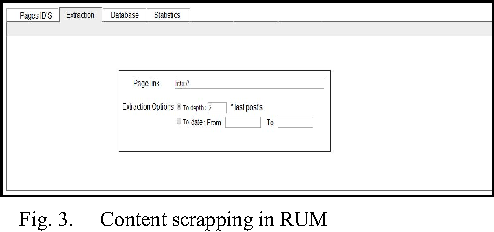 RUM Extractor: A Facebook Extractor for Data Analysis