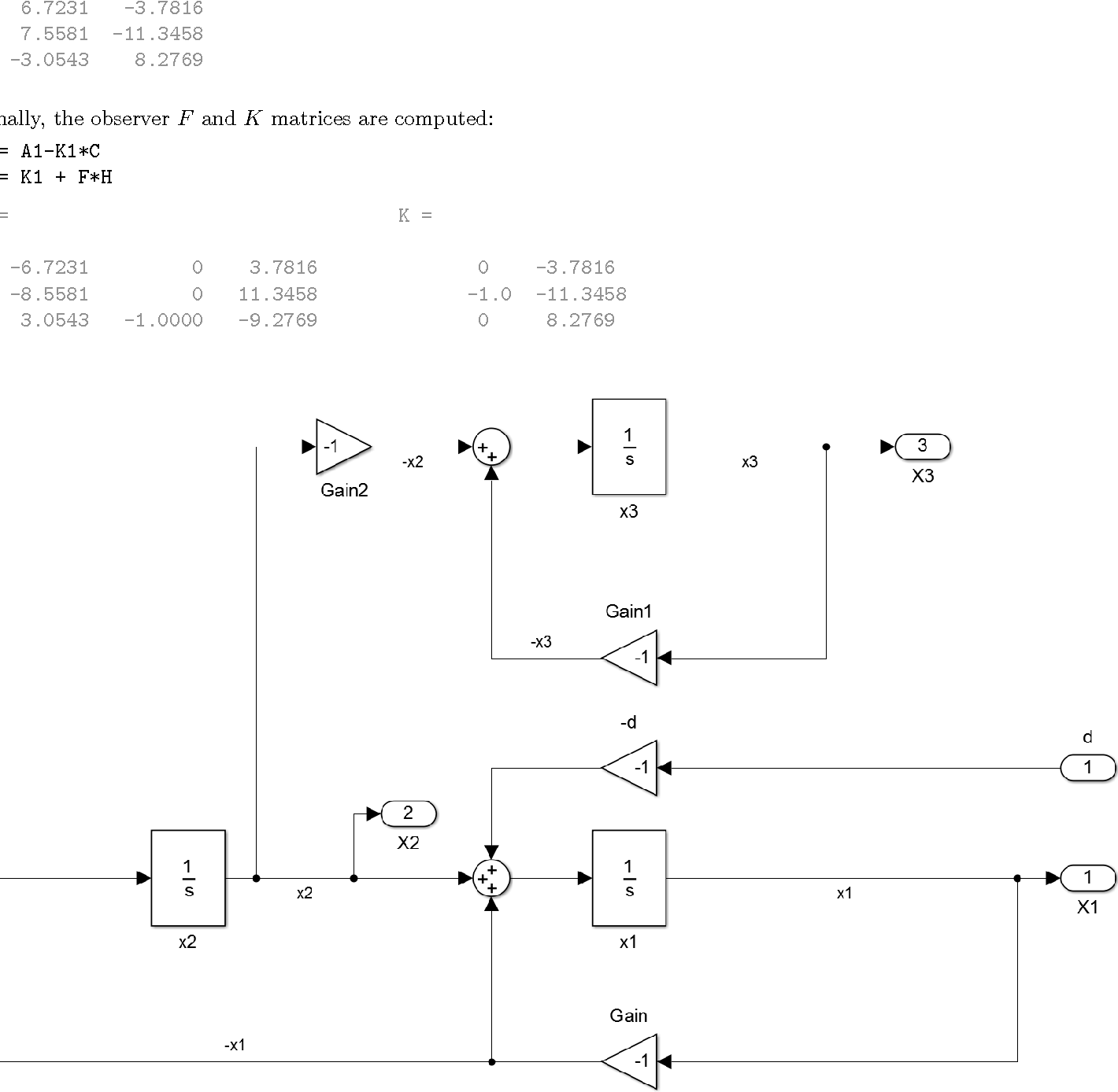 Figure 2 from The Unknown Input Observer and its Advantages ... on