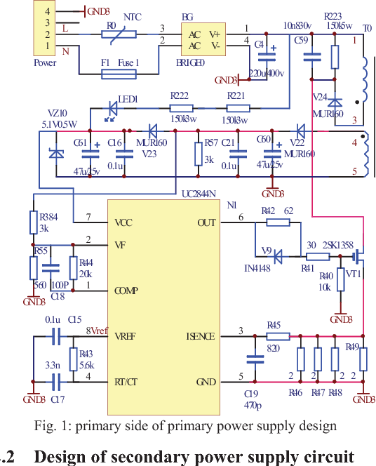 Figure 1 from Switching power supply design suitable for