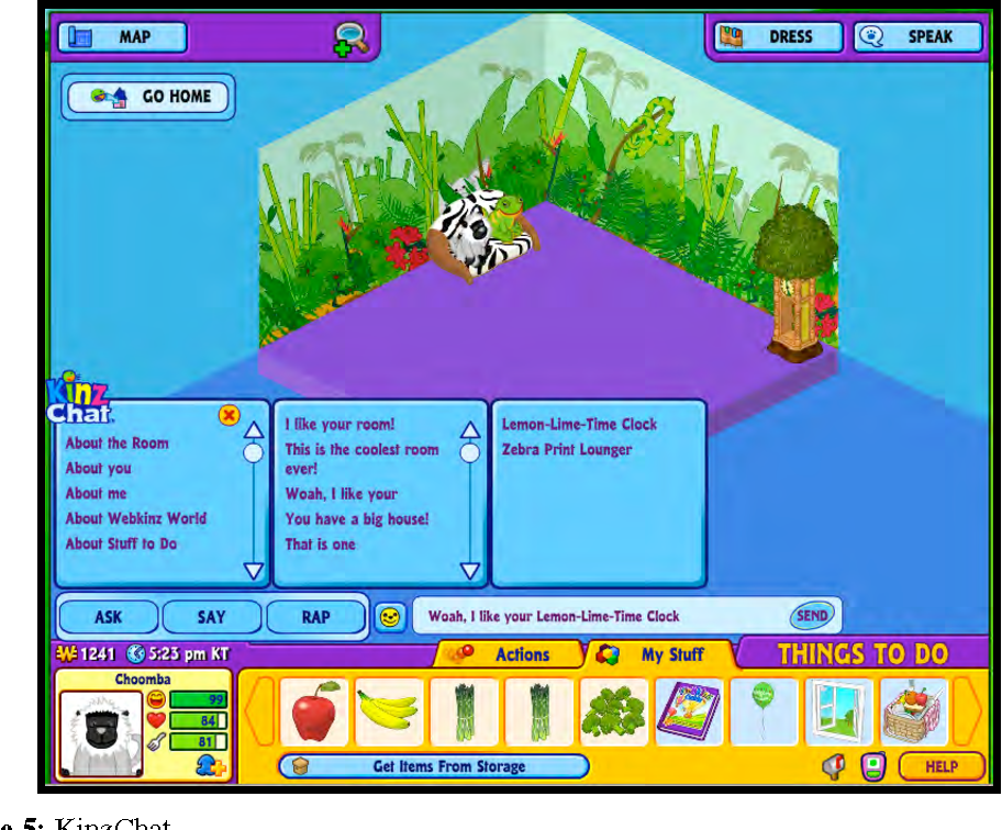 PDF] The language of Webkinz: Early childhood literacy in an