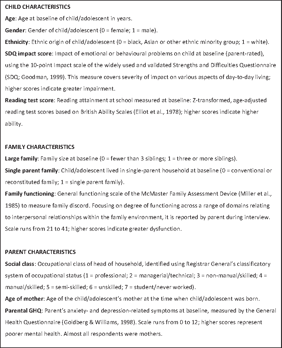 Psychiatric Evaluation Of Children And Adolescents It Takes Time >> Figure 2 From How Do Child And Adolescent Mental Health