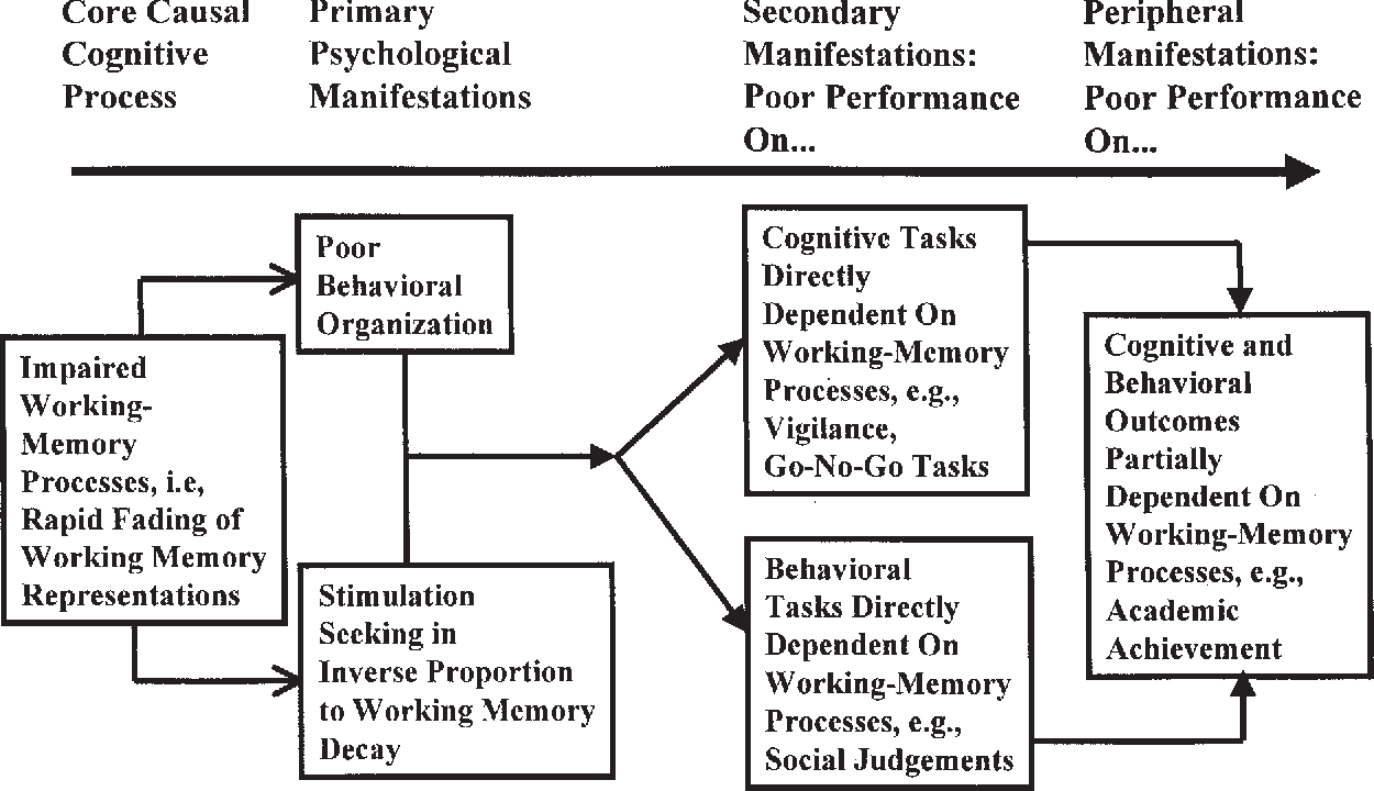 Cognition And Behavior Attention >> Figure 3 From A Conceptual Model Of Child Psychopathology