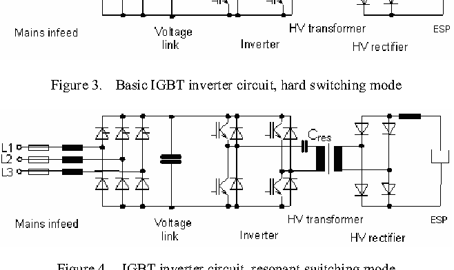 Figure 3 from 150kV/ 300kW High Voltage Supply with IGBT ... on