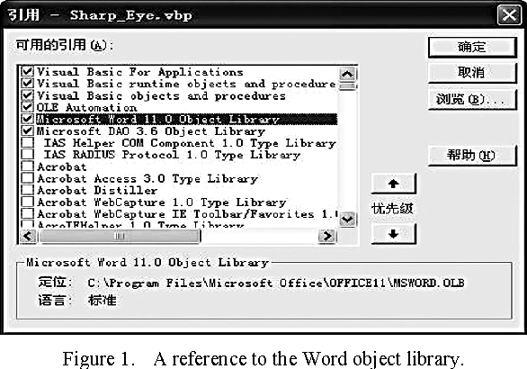 Automating Microsoft Office Word in Visual Basic - Semantic