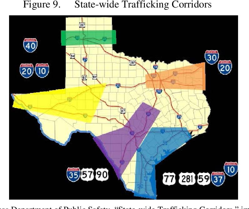 Figure 9 from Defining Mara Salvatrucha's Texas Network
