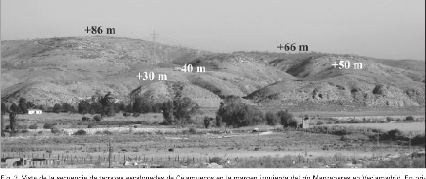 Pdf Terrazas Fluviales Del Pleistoceno Inferior Y Mediodel