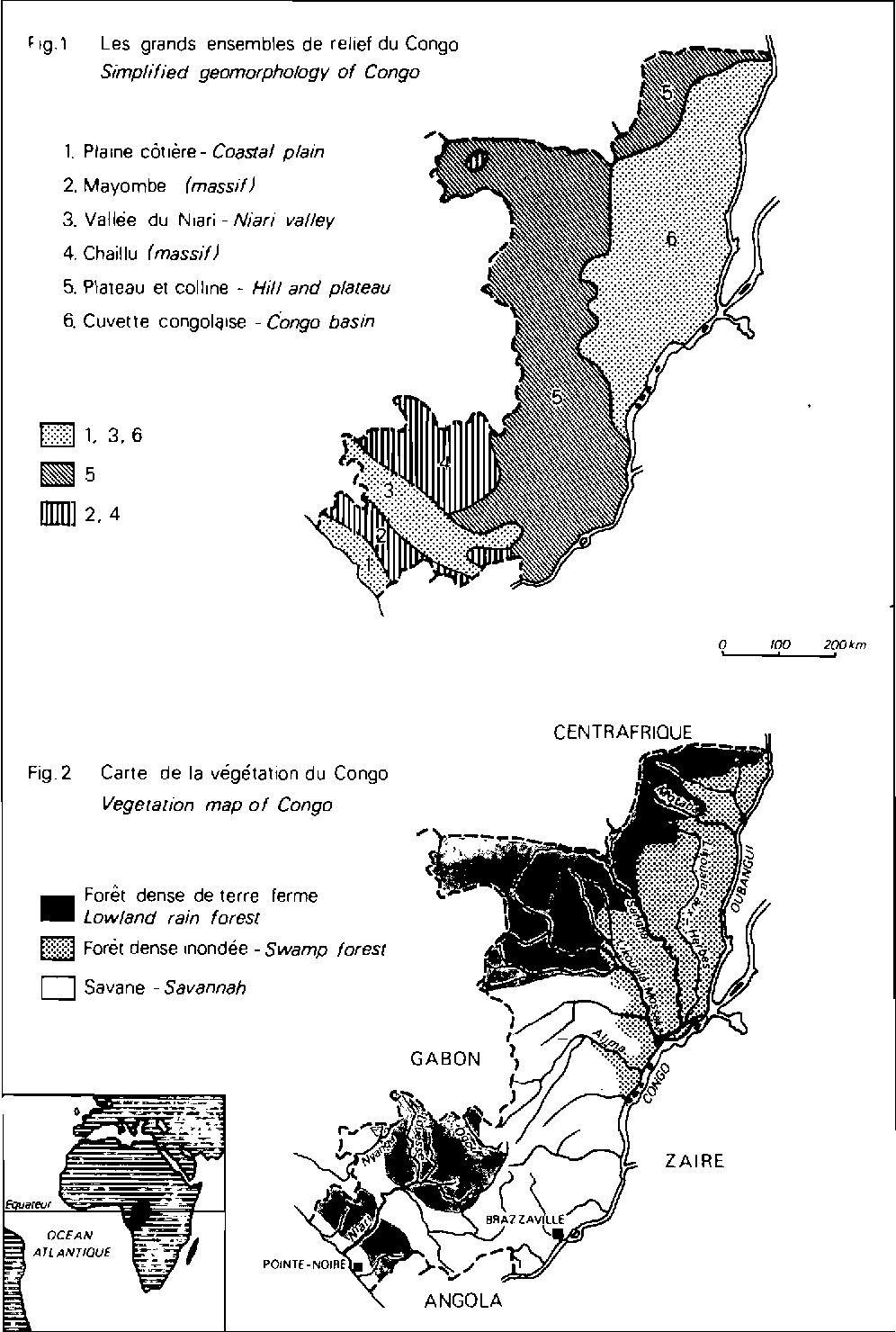 Carte De Lafrique Centrale Pdf.Pdf Chromolaena Odorata And Disturbance Of Natural