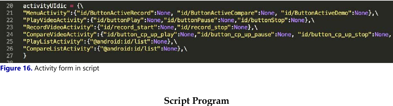 PDF] An Automatic UI Interaction Script Generator for