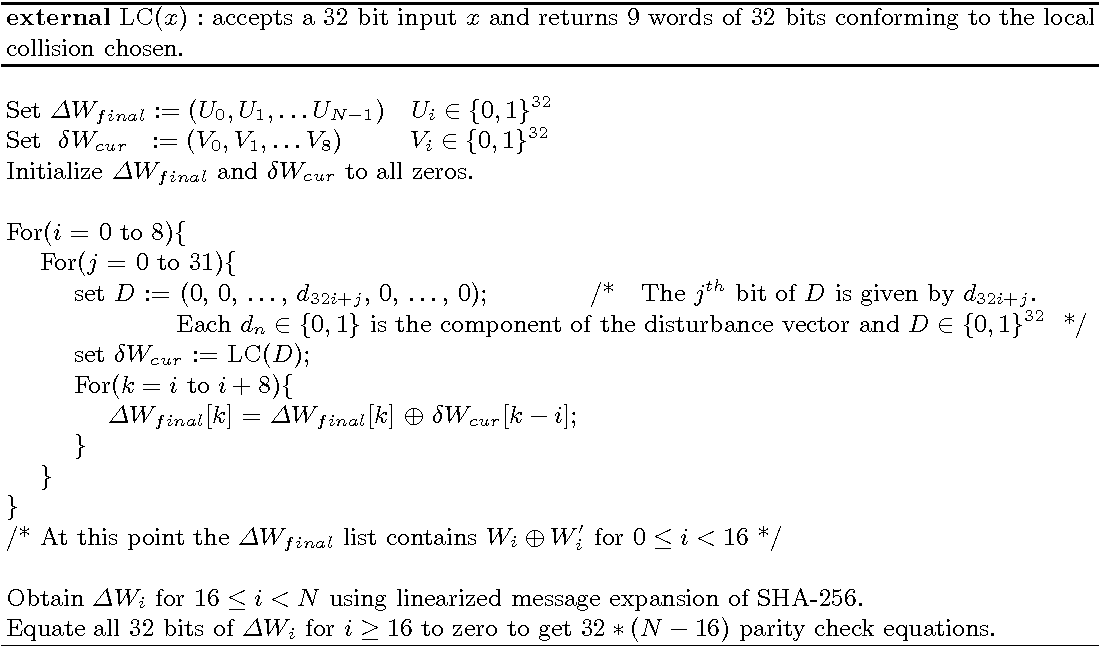 Attacking Reduced Round SHA-256 - Semantic Scholar